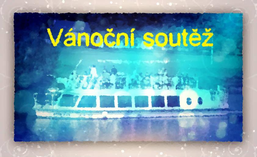 Vánoční soutěž o lístky na plavku lodí Morava